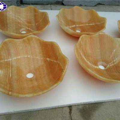 Beige Yellow Onyx Sink Profile Picture