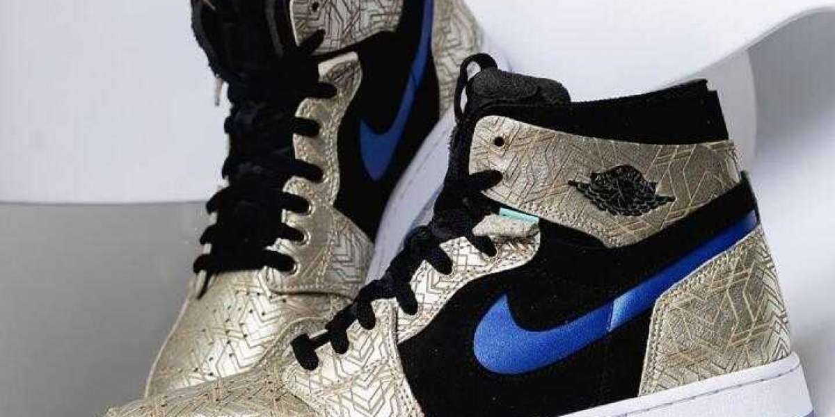 Air Jordan 1 High Zoom CMFT Adorned Dropping With Golden Engravings